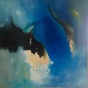 2012 - Konfrontation, Öl auf Leinwand, 100 x 100