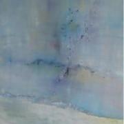 2014 - Traute Zweisamkeit, Öl auf Leinwand, Mischtechnik, 100 x 90