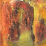 2014 - Und es ward Licht, Öl auf Leinwand, 90 x 110